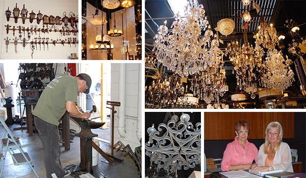 hinkley s lighting factory american