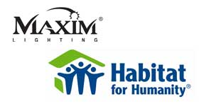 Maxim Lighting Products to Aid Habitat for Humanity