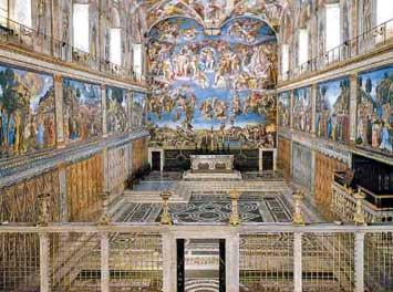 OSRAM LEDs Illuminate The Sistine Chapel