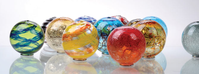 Holiday Decorating Ideas-Glass Duet Vases
