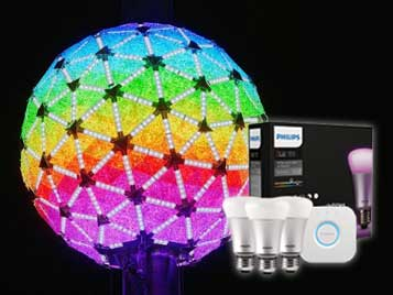 Philips' Hue Users Can Synchronize With Times Square New Year's Eve Ball