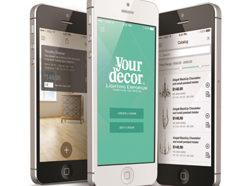 Introducing the Your Decor Smartphone App