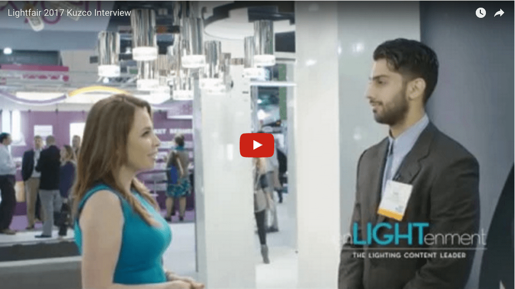 Lightfair 2017 Kuzco Lighting Interview