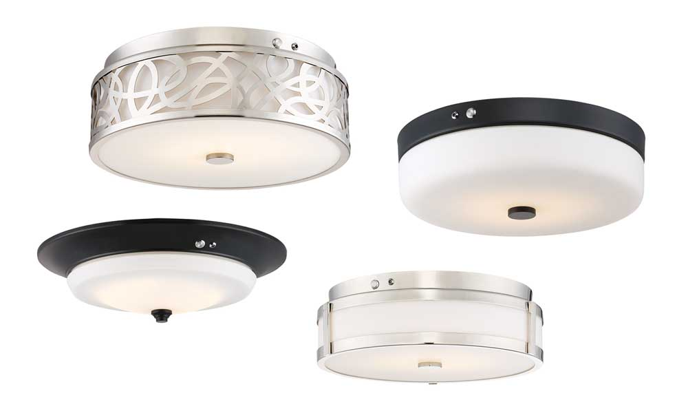 Nuvo Lighting Flush Mount LED EMR Fixtures