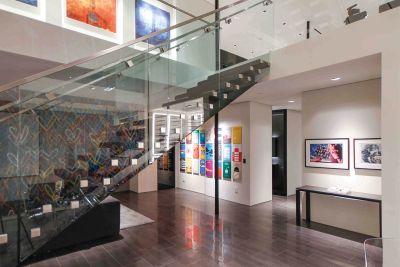Art of Living Residence staircase