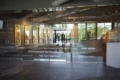 Quad/Graphics entrance