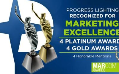 Progress Lighting Wins MarCom Awards