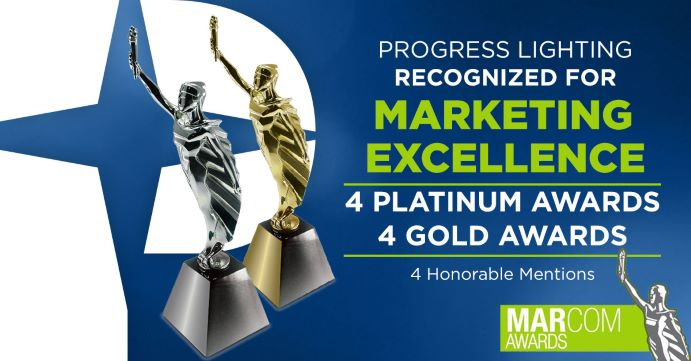 Progress Lighting Wins MarCom Awards