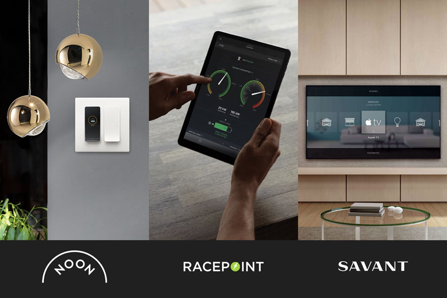 NOON Home Acquired by Racepoint Energy, Integrates With Savant