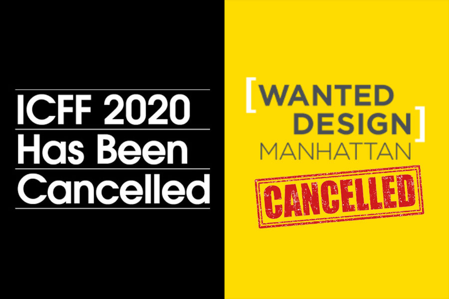 ICFF 2020 & WantedDesign Have Been Cancelled