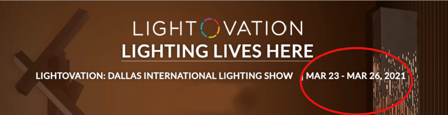 January Lightovation Reschedules for March, But January Gift Market Holds Dates