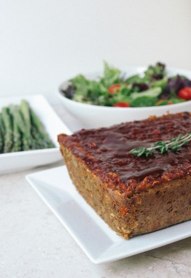THE ULTIMATE VEGETABLE LENTIL LOAF