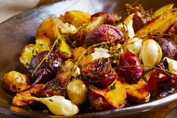 potatoes and beets