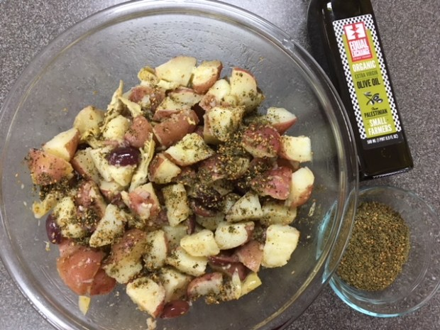 Don't like mayo Try Za'atar Potato Salad_2