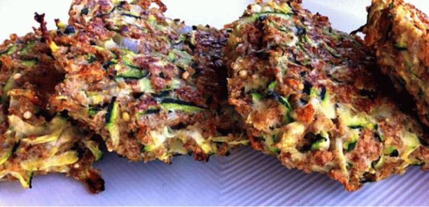 Crunchy Zucchini Fritters with Avocado Dill Dip My Favorite Recipe