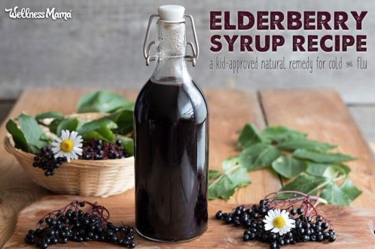 How to Make Elderberry Syrup Potent Cold Flu Remedy