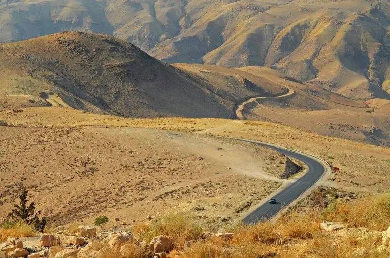 Հորդանանի Նեբո լեռան բարձունքից բացվող տեսարանը: Լուսանկարիչ` Ֆերիս Նայթ: Լուսանկարի աղբյուրը` Վիքիպահեստ: