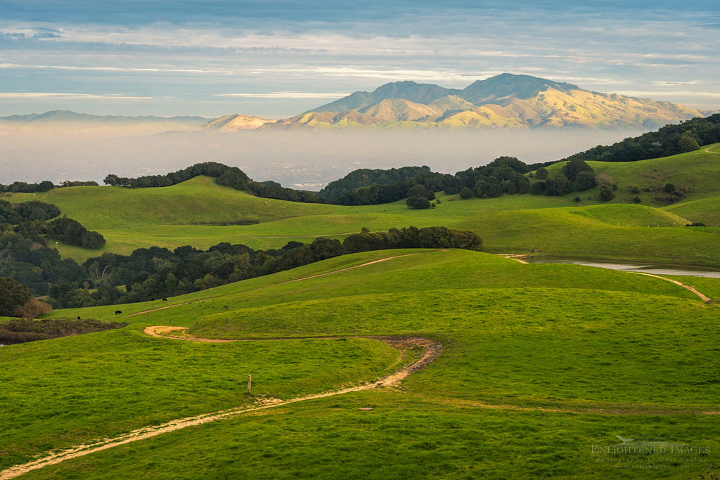 Photo: Mount Diablo from the Briones Crest Trail, Contra Costa County, California