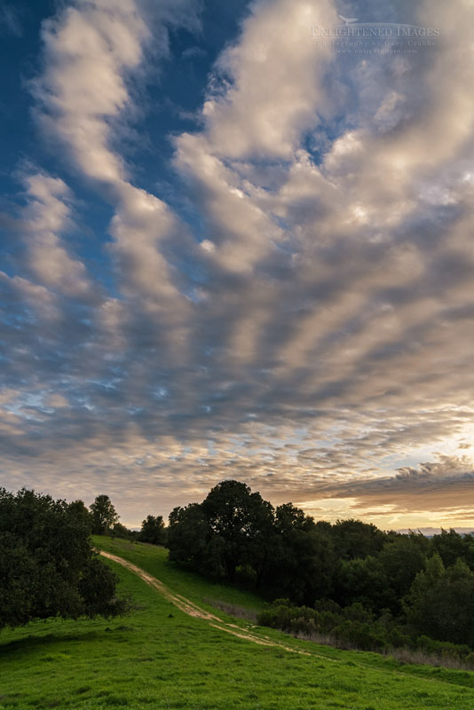 Photo: Clouds over the Briones Crest trail, Briones Regional Park, Contra Costa County, California
