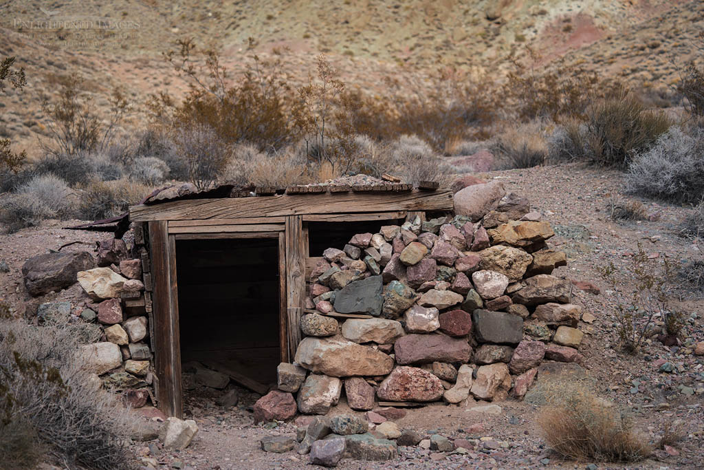 Photo: Leadville mining town ruins, Titus Canyon, Death Valley National Park, California