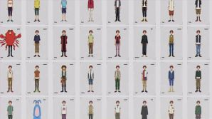 Izumi Koshiro, dengan berbagai style pakaian rancangannya