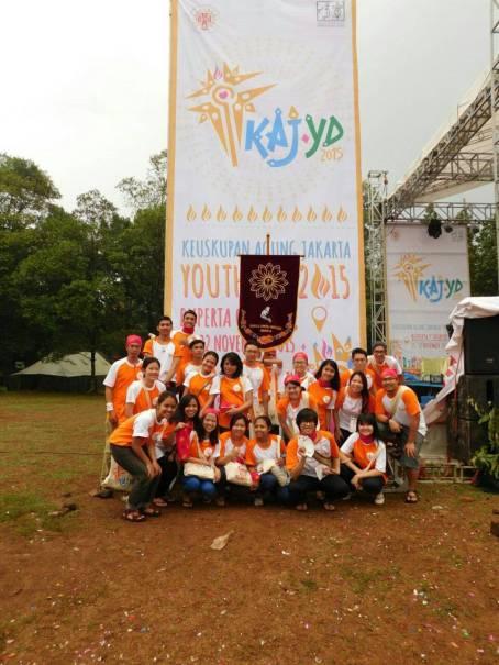 OMK St. Theresia Menteng at KAJ Youth Day 2015
