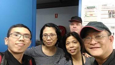 From left: Linda, Alice, Carl, Garry