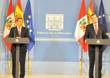 Humala se reunió ayer con presidente español