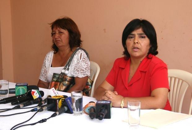 Ana Jara reclaman a Alan García:
