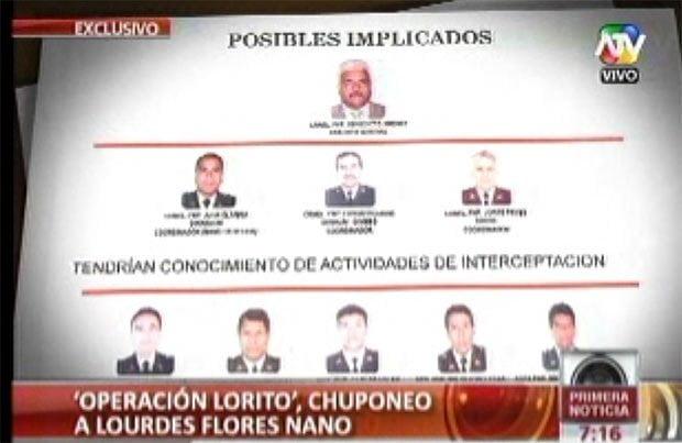 Noticieron de ATV reveló quienes estarían detrás del chuponeo a Lourdes Flores