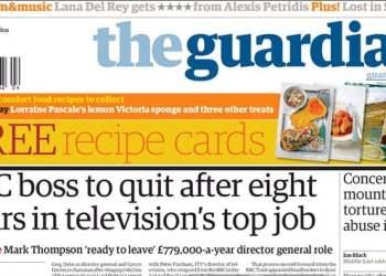 Portada The Guardian