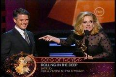 Adele premiada en los Grammys
