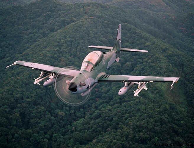 Avión Super Tucano