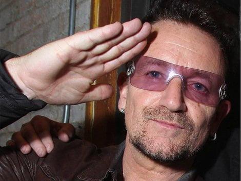Bono en Lima, aunque para hacer turismo