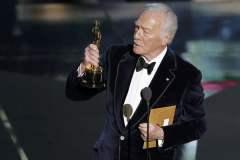 Christopher Plummer ganó un Óscar a los 82 años de edad