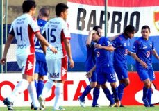 Dos goles de Orozco le dieron el triunfo al Cruz Azul sobre el Nacional de Paraguay