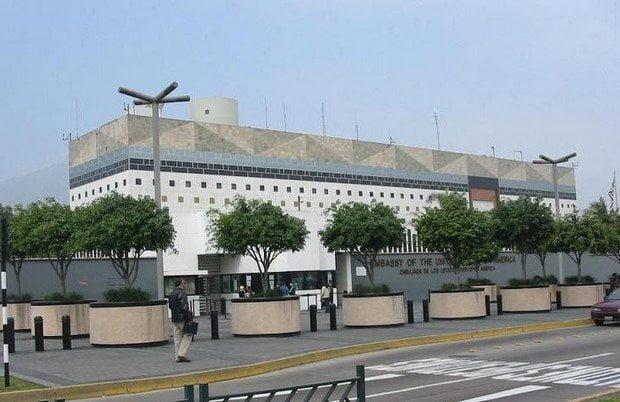 Embajada de los EEUU en Lima
