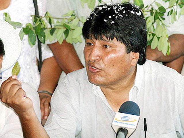 Evo Morales defiende el consumo de coca