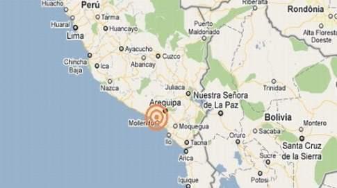 Fuerte sismo de 5.7 grados sacudió Arequipa y Moquegua