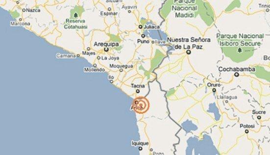 Sismo en Tacna