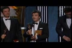 Premio a mejor película del año, Thomas Langmann con estatuilla
