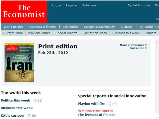 Revista The Economist