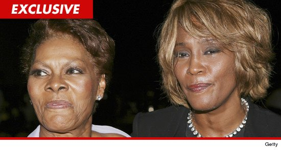 Whitney Houston y Dionne Warwick (TMZ)