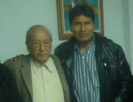 Isaac Humala y Walter Aduviri