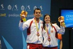 Rodrigo Pacheco y Claudia Rivero participarán en el Finnish Open de Bádminton
