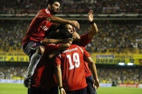 Independiente acabó con el invicto de Boca al ganarle por 5-4