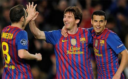 Lionel Messi por primera vez anotó 5 goles en un solo encuentro