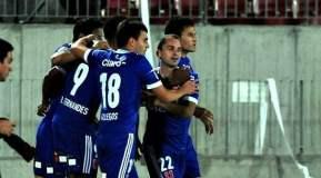U. de Chile celebró una victoria en la última jugada del partido, eliminando de paso a Peñarol