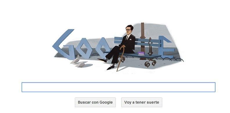 Google rinde homenaje a César Vallejo