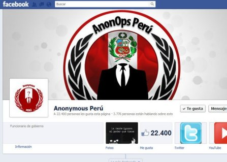 Anonymous Perú